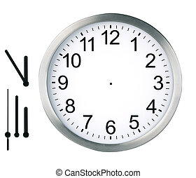runda, klocka, isolerat