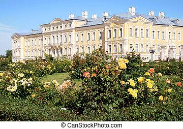 Rundale palace in Latvia