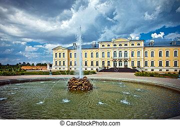 Rundale Palace, Latvia, Bauska