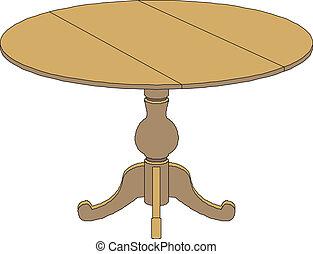 runde tabelle, zeichnung