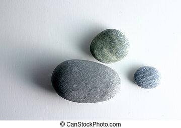 runder , steine