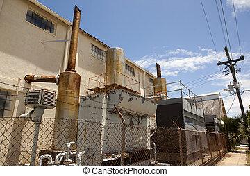 Rundown warehouse