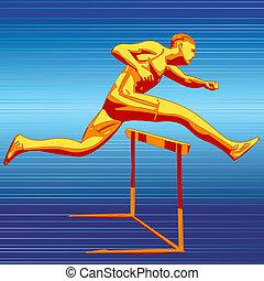 Runner - Digital Illustration