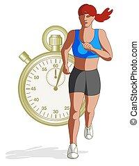 runner female