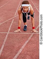 Runner on start