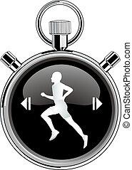 runner stop watch