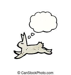 running hare cartoon