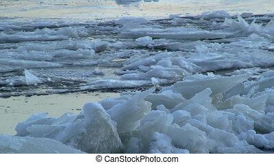 running ice