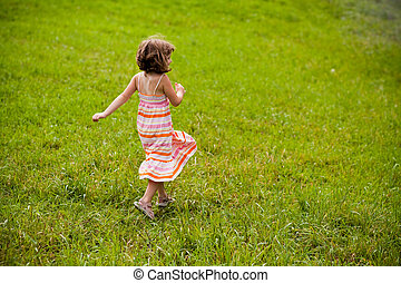 Running in the field