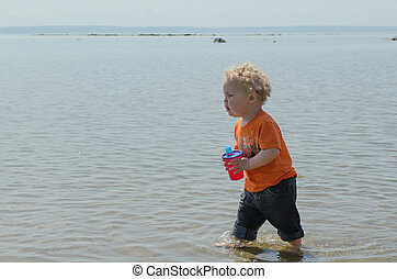 Running In The Water