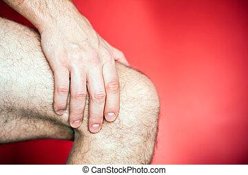 Running knee injury