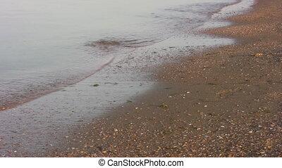 running legs on beach