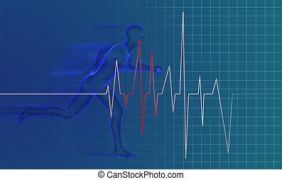 running man - anatomy