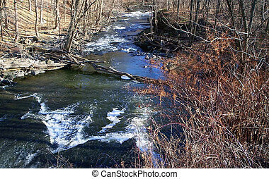 Running River - A small running river