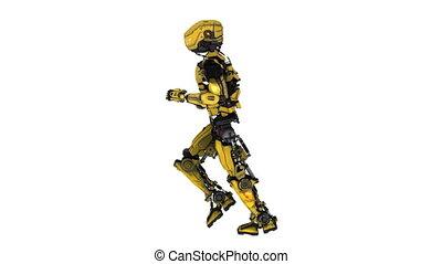robot - running robot