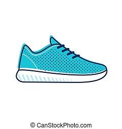Running shoe icon