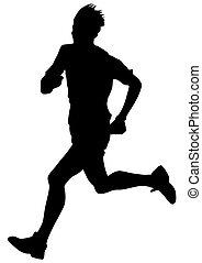 Running sport men seven