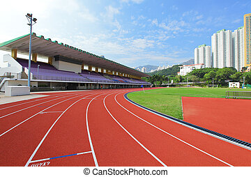 Running stadium