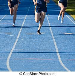 Running to Finish Line