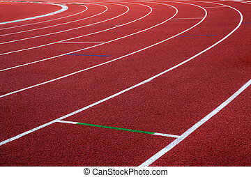 Running track, abstract, texture, background.