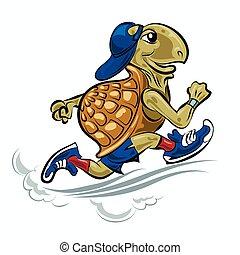Running Turtle