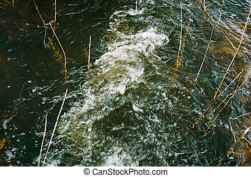 Running Water in the River