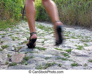 running woman