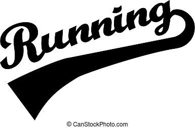Running Word Retro