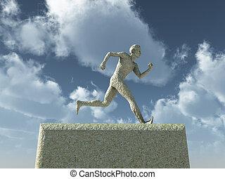 runnning man