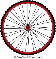 ruote, bicicletta