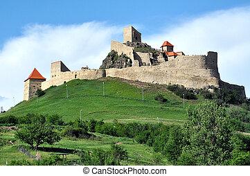 Rupea fortress, a medieval fortification in Transylvania, Romania