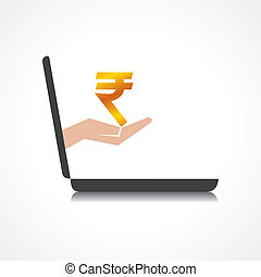 rupee symbol comes from laptop