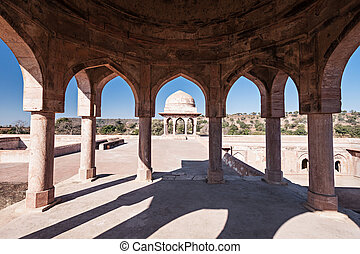 Rupmati Pavilion, Mandu - Rupmati Pavilion in Mandu, Madhya ...