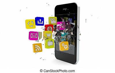 rupture, apps