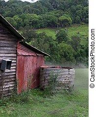 rural, australien, héritage
