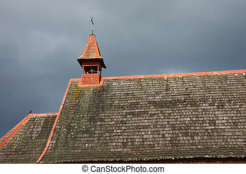 Rural Church in Southern Chile
