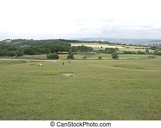 Rural golfing
