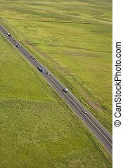 Rural highway.
