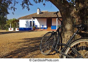 Rural House and Bike