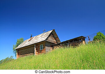 rural house not low hill