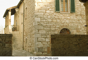 rural houses in tuscany