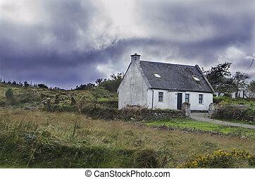 rural irish cottage