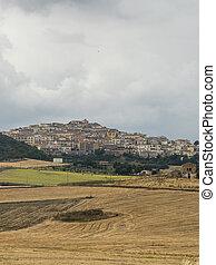 Rural landscape in Apulia at summer near Candela - Rural ...