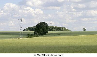 rural landscape in Hohenlohe