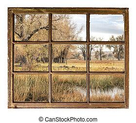 rural landscape in northern Colorado