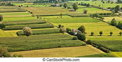 Rural landscape in northern Italy. - Rural landscape in ...