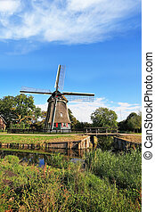 Rural landscape in the Netherlands