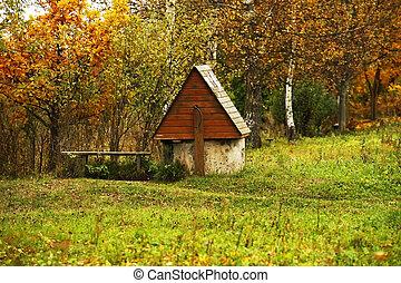 Rural landscape - The image of a rural landscape an autumn