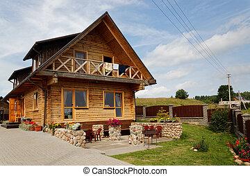 Rural modern hotel