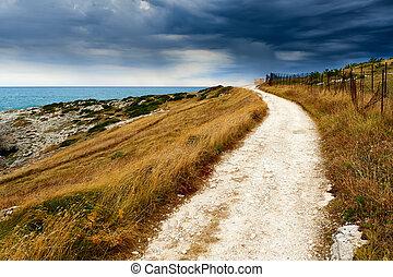 Rural Pathway coast sea
